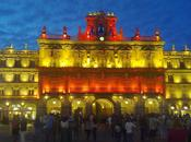 Iluminación bandera española/スペイン代表ライトアップ