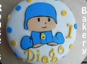 Tarta primer cumple Diego