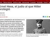 noticia curiosa: hitler protege temporalmente judío compañero armas guerra mundial