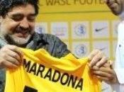 Maradona, destituido como técnico Wasl