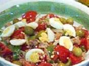 Pipirrana plato deliciosamente fresco