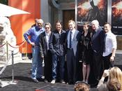 Christopher Nolan estampa firma Grauman's Chinese Theatre