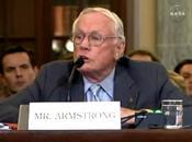 Neil Armstrong afirma presidente Obama está asesorado temas espaciales