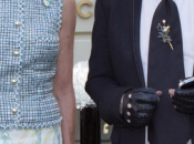 Carolina Mónaco acompañó Karl Lagerfeld lanzamiento colección joyería Chanel