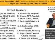 ICMAT tiende puentes matemática India