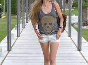 Shorts skulls Barcelona