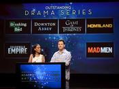Nominaciones Emmys 2012