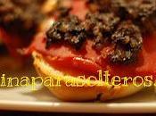 Panini morcilla Burgos pimientos piquillo queso cabra