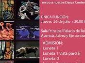 Aquello alma hace silencio, coreografía Marco Antonio Silva siete cuerpos masculinos buscan femenina