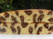 Torta leopardo Leopard print cake inside