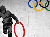 artpedia: Banksy Untitled (Olympic Rings), 2012