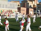 Exhibicion karate infantil campo futbol cerrillo