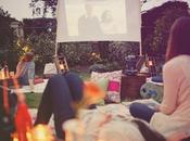 Cine aire libre/Open-air cinema party