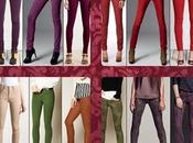 jeans colores, nueva tendencia para mujer Otoño-Invierno 2012-2013