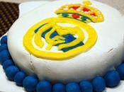Tarta fondant Real Madrid