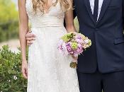 Vanessa Romero casó Alberto Caballero vestida Hannibal Laguna