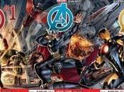 Marvel revela alineación Avengers NOW! tres portadas interconectadas