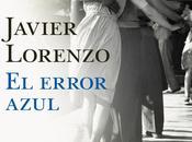 error azul. Javier Lorenzo