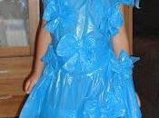 Hacemos original barato disfraz princesa como bolsas basura