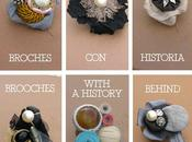Regalo original: broches historia Different gift: brooches with history behind