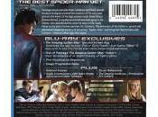 Contraportadas Blu-ray Amazing Spider-Man contenido exclusivo Target Walmart
