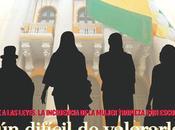 Luces sombras presencia política mujer Bolivia