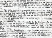 Aniversario c.d. ourense: acta fundacional otras historias paralelas-lelos