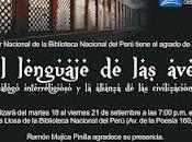 LENGUAJE AVES: DIÁLOGO INTERRELIGIOSO ALIANZA CIVILIZACIONES LIMA