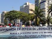 Caminata Libertad Religiosa Janeiro pide amor prójimo
