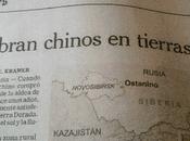 Impresionante avance chino Rusia