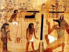 anuncio antiguo historia: papiro Tebas