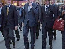 Rajoy fuma puro Nueva York