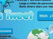 Tweet Gana dinero escribir tuits patrocinados Twitter