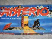 Juegos mesa míticos: misterio