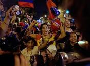 Hasta madrugada festejo bolivariano victoria Hugo Chávez