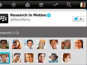 lanza nueva actualización Twitter para Blackberry