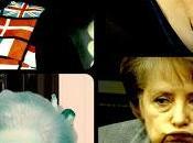 Angela Merkel. Recortando vestuario