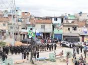Janeiro: solo minutos, Policía ocupa favelas Manguinhos dominadas criminales