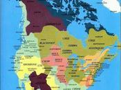 Mapa territorios indios norteamericanos antes conquista