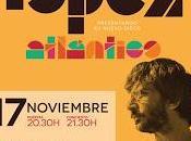 Xoel lópez cierra gira madrid, noviembre