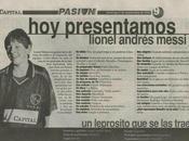 ¡Entrevista Lionel Messi cuando tenía años!