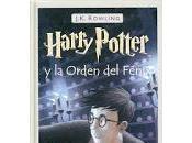 Literatura: Harry Potter Orden Fénix