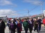marco programa elige vivir sano gobernación tierra fuego realizó caminata saludable