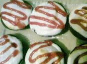 Cupcakes tipo Pingüinos Marinela