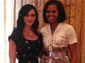 Katy Perry tuvo almuerzo cumpleaños Michelle Obama