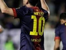 Messi: 100, 200, goles