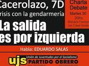 Charla Debate Eduardo Salas Ciudad Universitaria
