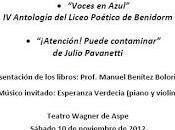 Presentación colección poesía Biblioteca Azul Aspe
