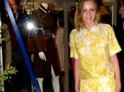 Stella McCartney vistió amarillo para imaugurar tienda Barcelona
