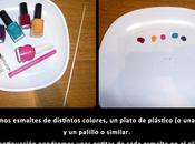 Manicura topitos colores
